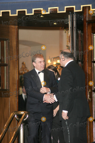 Prince Photo - London UK Prince Andrew the Duke of York attends the private party to celebrate the Queens 80th birthday held at the Ritz Hotel in London 5th December 2006FlashburstLandmark Media