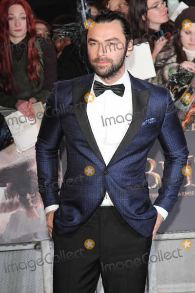 Aidan Turner Photo - London UK Aidan Turner at World Premiere of The Hobbit The Battle of the Five Armies at Odeon Leicester Square London on December 1st 2014Ref LMK73-50199-021211Keith MayhewLandmark Media WWWLMKMEDIACOM