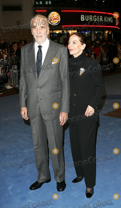 Birgit Kroencke Photo - London Christopher Lee and Birgit Kroencke at the Premiere of Corpse Bride at the Vue Cinema Leicester Square17 October 2005Paulo PirezLandmark Media
