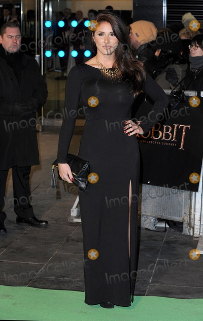 Lucy Pinder Photo - London UK Lucy Pinder at the Royal Film performance of The Hobbit An Unexpected Journey held at The Empire Leicester Square 23 October 2012Landmark Media