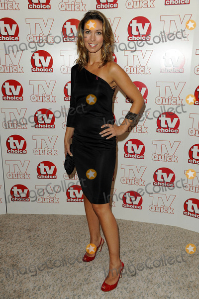 Emma Crosby Photo - Emma Crosby Tv Presenter 2009 Tv Quick and Tv Choice Awards at Dorchester Hotel in Park Lane  London  England 09-07-2009 Photo by Neil Tingle-allstar-Globe Photos Inc