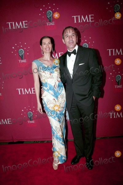 Annette Roque Photo - Time Magazines 100 Most Influential People 2007 Jazz at Lincoln Center  New York City 05-08-2007 Photo by Bruce Cotler-Globe Photos 2007 Matt Lauer and Wife Annette Roque