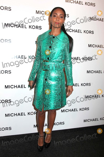 Jada Pinkett-Smith Photo - Michael Kors Fall 2013 Fashion Show Celebrities Mercedes Benz NY Fashion Week Lincoln Center NYC February 13 2013 Photos by Sonia Moskowitz Globe Photos Inc 2013 Jada Pinkett Smith