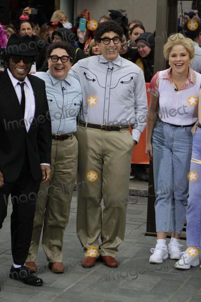 AL ROCKER Photo - AL Rockerjulia Seeneymatt Lauerjenna Bush NBC Today Show Recreates Saturday Night Live Character Costumes For Halloween 10-31-2014 John BarrettGlobe