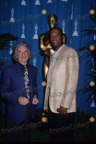 Arthur Hiller Photo - Samuel Jackson with Arthur Hiller Oscar Nominees Luncheon 1995 K0909lr Photo by Lisa Rose-Globe Photos Inc