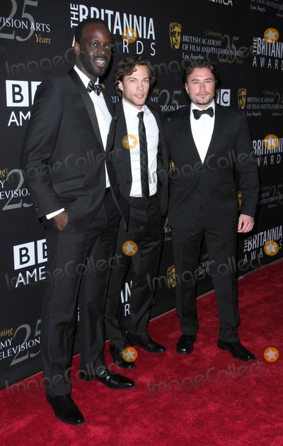 Kyle Schmid Photo - Ato Essandoh Kyle Schmid Kevin Ryan Attend Bafta LA 2012 Britannia Awards on 7th November 2012 at the Beverly Hilton Hotelbeverly Hillscausaphoto TleopoldGlobephotos