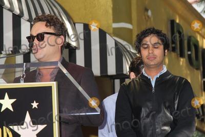 Kunal Nayyar Photo - Kaley Cuoco Honored with Star on the Hollywood Walk of Fame 6621 Hollywood Blvd Hollywood CA 10292014 Johnny Galecki and Simon Helberg Clinton H WallaceGlobe Photos Inc
