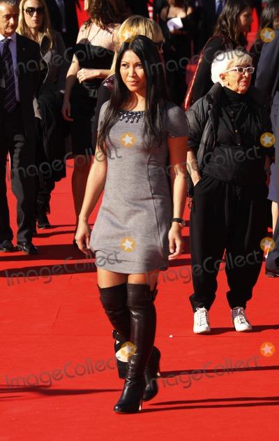 Anggun Photo - Indonesian Singer Anggun Arrives at the Ambassador Fao Event at the 4th Rome International Film Festival at Auditorium Parco Della Musica in Rome Italy on October 16th 2009 Photo Alec Michael-Globe Photos Inc 2009