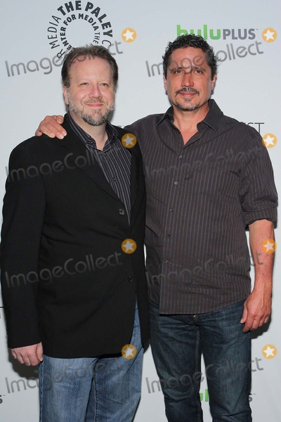 Andrew Marlowe Photo - Andrew Marlowerob Bowman Paleyfest 2012 Presents Castle Held at the Saban Theatrebeverly Hillscamarch 9 2012phototleopoldGlobephotos