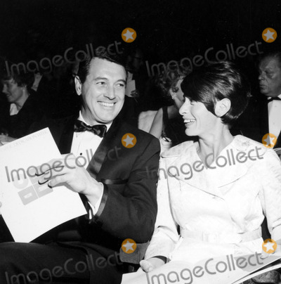 Rock Hudson Photo - Rock Hudson and Flo Allen c911-1 Nate CutlerGlobe Photos Inc
