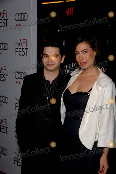 Amber Melfi Photo - Samm Levine and Amber Melfi during the AFI Fest 2009 presentation of the new movie from Sony Pictures Classics THE IMAGINARIUM OF DOCTOR PARNASSUS held at Graumans Chinese Theatre on November 2 2009 in Los AngelesPhoto Michael Germana - Globe Photos Inc 2009K63725MGE