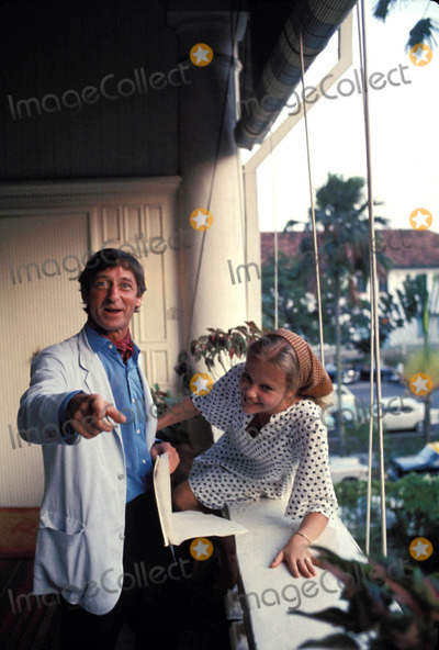 Hayley Mills Photo - Hayley Mills and Roy Boulting Photo by Maynard Frank Wolf-Globe Photos