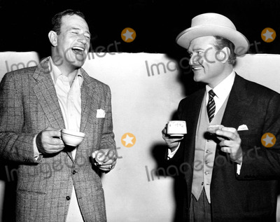 Red Skelton Photo - John Wayne and Red Skelton Globe Photos Inc Johnwayneobit