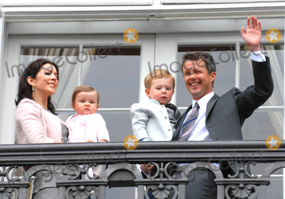 Crown Prince Frederik of Denmark Photo - Crown Prince Frederik of Denmark 40th Birthday-amalienborg Palace Copenhagen Denmark 05-26-2008 Photo by Ricardo Ramirez-richfoto-Globe Photos Inc Prince Frederick Princess Mary Prince Christian and Princess Isabella of Denmark