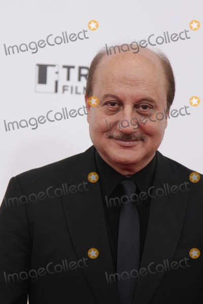 Anupam Kher Photo - The New York Premiere of Silver Linings Playbook to Benefit the Tribeca Film Institute the Ziegfeld Theater NYC November 12 2012 Photos by Sonia Moskowitz Globe Photos Inc 2012 Anupam Kher