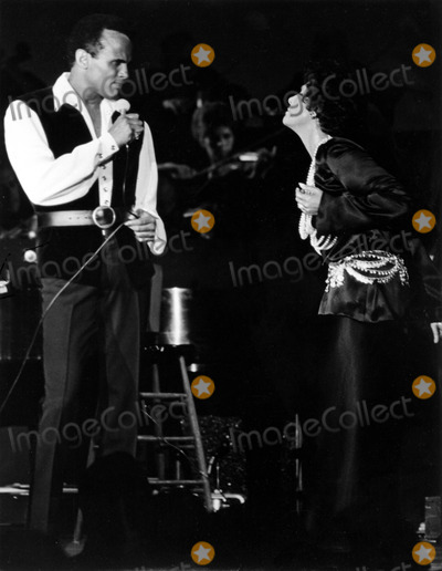 Lena Horne Photo - Harry Belafonte and Lena Horne Supplied by Globe Photos Inc