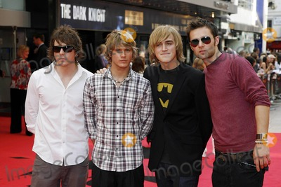 Harry Judd Photo - Mcfly Members Harry Judd Dougie Poynter Tom Fletcher and Danny Jones Pop Band K59050  Dark Knight  Premiere at Odeon Cinema in West End London 07-21-2008 Photo by Neil Tingle-allstar-Globe Photos Inc
