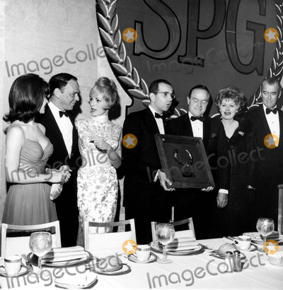 James Stewart Photo - Natalie Wood Frank Sinatra Janet Leigh Nalter Birisch Bob Hope Lucille Ball and James Stewart d644-40 Supplied by Globe Photos Inc Janetleighretro