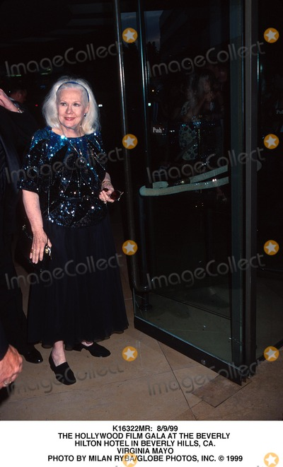 Virginia Mayo Photo -  8999 the Hollywood Film Gala at the Beverly Hilton Hotel in Beverly Hills CA Virginia Mayo Photo by Milan RybaGlobe Photos Inc