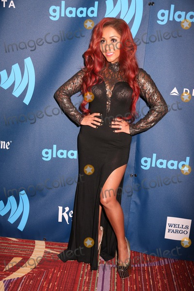 Nicole Snooki Polizzi Photo - The 24th Annual Glaad Media Awards the Marriott Marquis Hotel NYC March 16 2013 Photos by Sonia Moskowitz Globe Photos Inc 2013 Nicole (Snooki) Polizzi