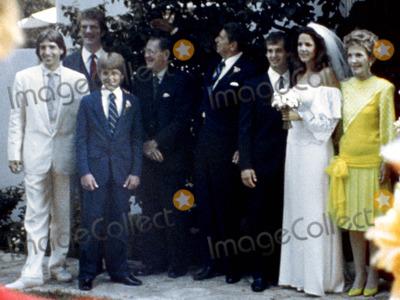 Patti Davis Photo - Patti Davis Wedding Ronald Reagan Photo ByGlobe Photos Inc 1984