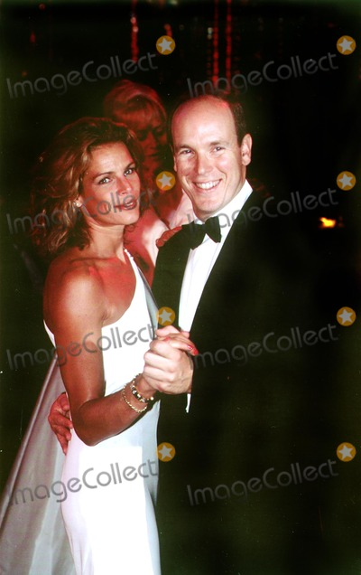 Albert de Monaco Photo - Princess Stephanie_albert DE Monaco Photo by Mac Innes Imapress  Globe Photosinc Sd09081996