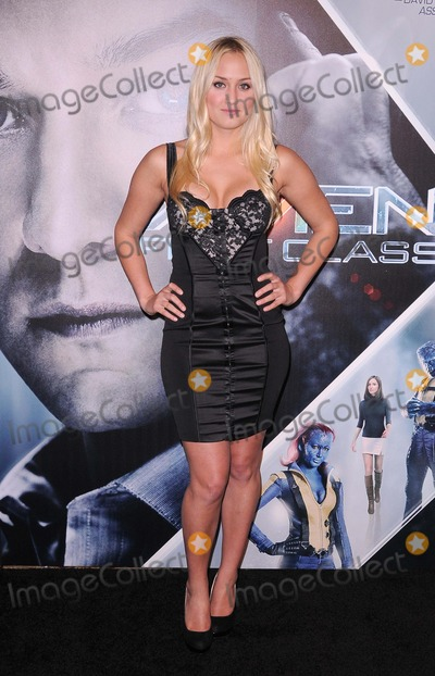 Naomi Kyle Photo - x-men First Class Blu-ray and Dvd Release Party at the Roosevelt Hotel in Hollywood CA 9811 Photo by Scott Kirkland-Globe Photos   2011 Naomi Kyle