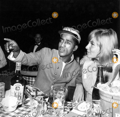 Mai Britt Photo - Sammy Davis Jr and May Britt at the Share Party a549-4a Globe Photos Inc