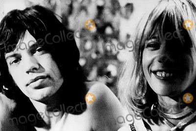 Anita Pallenberg Photo - Photo Globe Photos Inc Mick Jagger Anita Pallenberg