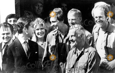 Jamie Farr Photo - Gary Burghoff Jamie Farr Prince Charles Loretta Swit Alan Alda William Christopher Harry Morgan and Mike Farrell at 20th Century Fox Studios in Los Angeles 10281977 1970s Supplied by SmpGlobe Photos Inc
