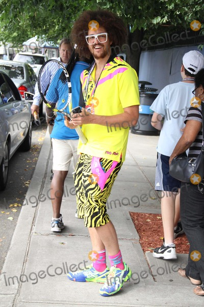Redfoo Photo - Redfoo of Lmfao at Us Open Tennis Day 8 at Arthur Ashe Stadium 9-3-2012 Photo by John BarrettGlobe Photo