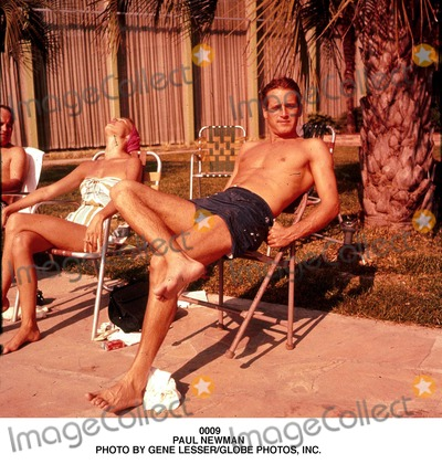 Paul Newman Photo - Paul Newman Photo by Gene LesserGlobe Photos Inc