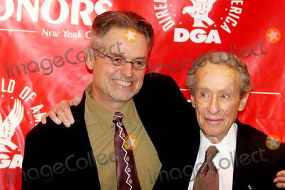 Arthur Penn Photo - Directors Guild of America Honors-at Dga Theater 110 W57st Dated 10-12-06 Photos by John Barrett-Globe Photosinc Jonathan Demme and Arthur Penn
