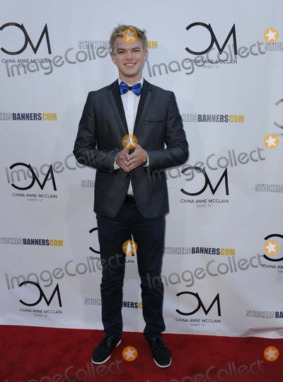 Kenton Duty Photo - Kenton Duty attending China Anne Mcclains Sweet 16 Birthday Bash Held at the Cbs Radford Studios in Studio City California on September 4 2014 Photo by D Long- Globe Photos Inc