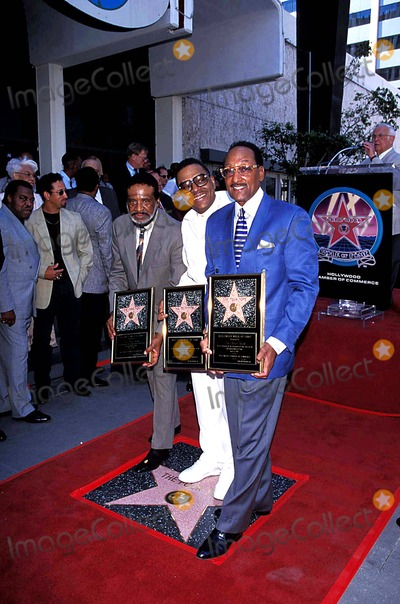 Abdul Fakir Photo - the Four Tops Honored with Star on the Hollywood Walk of Fame Levi Stubbsrenaldo Benson and Abdul Fakir Photo Fitzroy BarrettGlobe Photos Inc 1997 Renaldobensonretro