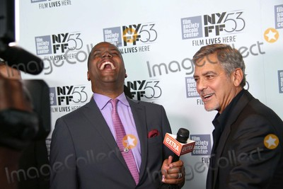 AJ Calloway Photo - Aj Calloway and George Clooney attends the 15th Anniversary Screening of O Brother Where Art Thou at the 53rd Annual New York Film Festival Alice Tully Hall Lincoln Center NYC September 29 2015 Photos by Sonia Moskowitz Globe Photos Inc