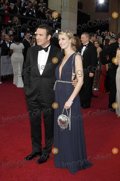 Alexandra Lamy Photo - Jean Dujardin and Wife Alexandra Lamy 84 Academy Awards - Oscars Hollywood CA February 26 2012 Roger Harvey-Globe Photos Inc