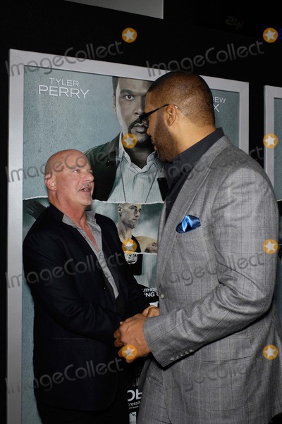 Rob Cohen Photo - Rob Cohen and Tyler Perry During the Premiere of the New Movie From Summit Entertainment Alex Cross Held at the Arclight Cinerama Dome on October 15 2012 in Los Angeles Photo Michael Germana - Globe Photos