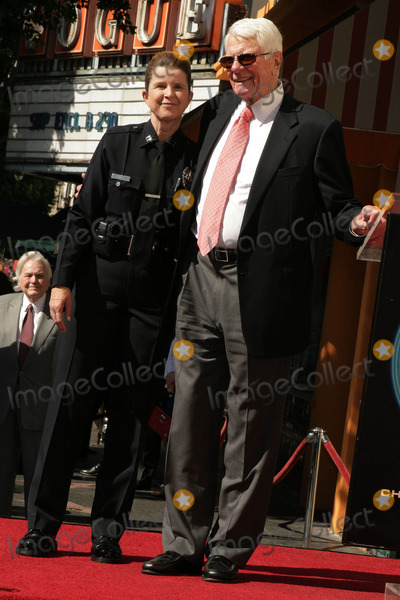 Peter Graves Photo - Peter Graves Honored with Star on the Hollywood Walk of Fame 6667 Hollywood Blvd Hollywood CA 103009 Peter Graves and Captain Beatrice Girmala Commander of Lapd Hollywood Division Photo Clinton H Wallace-photomundo-Globe Photos Inc