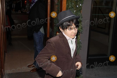 Kyoko Chan Cox Photo - Kyoko Chan Cox Son (Yoko Onos Grandson) Leaving Nellos Restaurant on Madison Ave 12-22-10 Photo by John BarrettGlobe Photos Inc2010