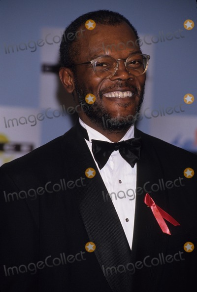 Samuel Jackson Photo - Samuel Jackson Cable Ace Awards 1995 K0387lr Photo by Lisa Rose-Globe Photos Inc