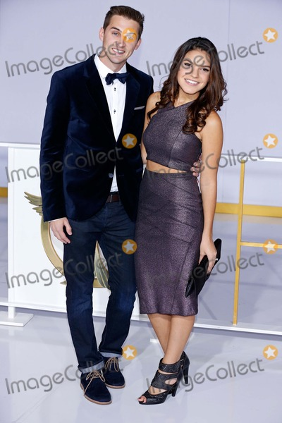 Alexys Gabrielle Photo - Cody Johns Alexys Gabrielle Premiere of the Hunger Games Mockingjay - Part 1 Los Angeles CA November 17 2014 Roger Harvey