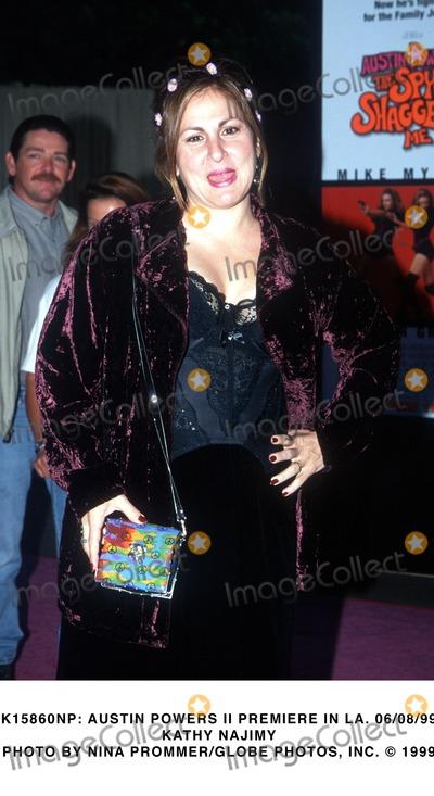 Kathy Najimy Photo -  Austin Powers Ii Premiere in LA 060899 Kathy Najimy Photo by Nina PrommerGlobe Photos Inc