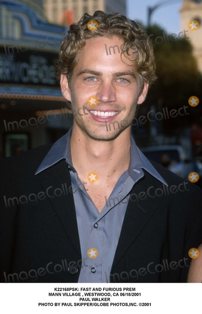 Paul Walker Photo -  Fast and Furious Prem Mann Village  Westwood CA 06182001 Paul Walker Photo by Paul SkipperGlobe Photosinc