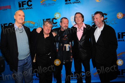 Monty Python Photo - Monty Pythons 40th Anniversary Event at Ziegfeld Theatre in New York City 10-15-2009 Photo by Ken Babolcsay-ipol-Globe Photos Inc John Cleese Terry Jones Terry Gilliam Eric Idle and Michael Palin