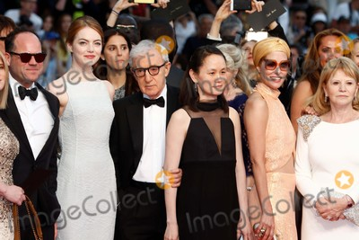 Soon-Yi Previn Photo - Actress Emma Stone (l-r) Director Woody Allen Soon-yi Previn and Actress Parker Posey Attend the Premiere of Irrational Man at the 68th Annual Cannes Film Festival at Palais Des Festivals in Cannes France on 15 May 2015 Photo Alec Michael