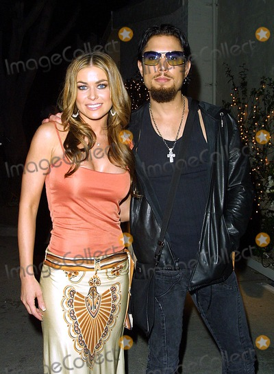 Dave Navarro Photo - Carmen Electra and Dave Navarro Jennifer Lopez Throws a Party to Open Her New Cuban Restaurant madres in Pasadena CA April 12 2002 Photo by Nina PrommerGlobe Photos Inc2002