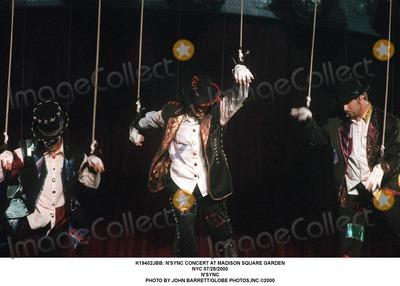 NSYNC Photo -  Nsync Concert at Madison Square Garden NYC 07252000 Nsync Photo by John BarrettGlobe Photosinc