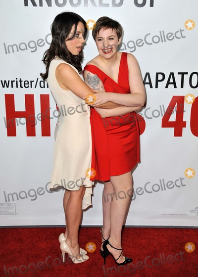 Lena Dunham Photo - Aubrey Plaza Lena Dunham attending the Los Angeles Premiere of This Is 40 Held at the Graumans Chinese Theatre in Hollywood California on December 12 2012 Photo by D Long- Globe Photos Inc