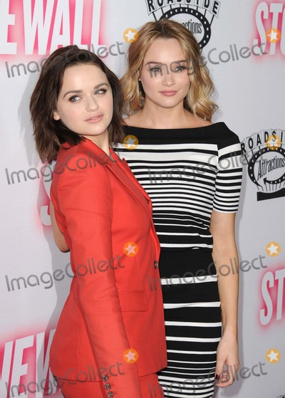 Hunter King Photo - Joey King Hunter King attending the Los Angeles Premiere of Stonewall Held at the Pacific Design Center in West Hollywood California on September 23 2015 Photo by David Longendyke-Globe Photos Inc